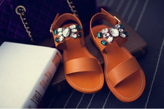 A French Girl Flats