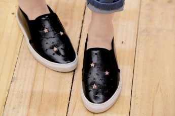 Star follower sneakers