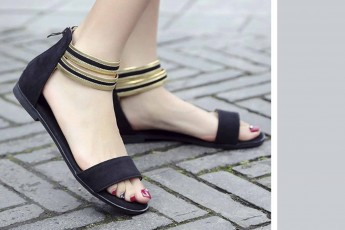 Casual Evening Flats (Black)
