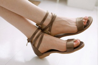 Sweetest Ankle Strap Flat