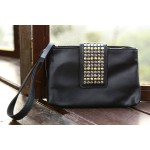 Stud Embellished Clutch
