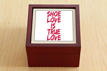 Shoe Love Jewellery Box