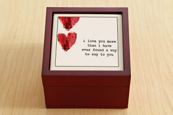 I Love You More Jewellery Box