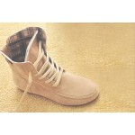 Motorcycle Ankle Boots-sand
