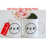 Set of 2: Personalized A & R Mug