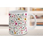 Colorful Floral Mug