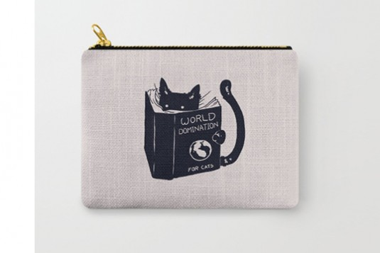 Cat Pouch Bag