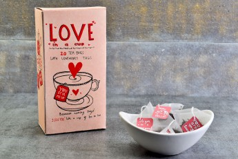 Love In a Cup - Himalayan Nettle Lemongrass Herbal Tea