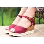 Classic Confidence Wedges Marsala
