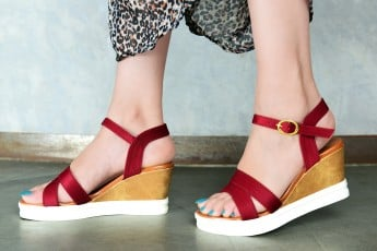 Must be Classic Wedges Marsala