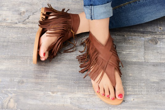 Fringe Flats (Brown)