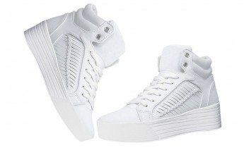 Positive Thought White Sneakers