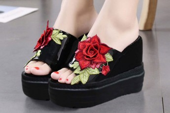 Rose on your heels