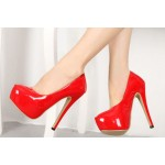 Now you Listen Heels Red