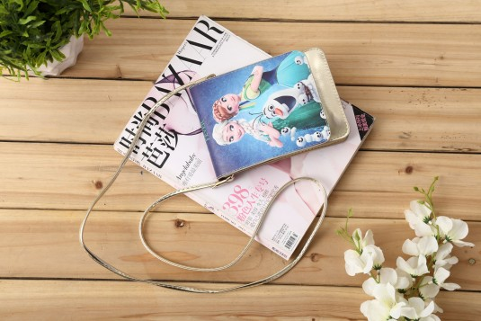 Cartoon Printed Sling Bag