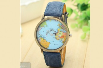 Casual Denim Blue Watch