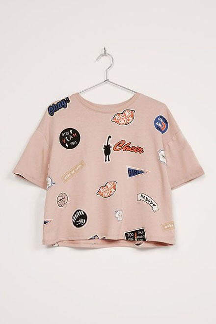 Multi Patches Top