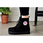 Follow me sneakers with detachable badges