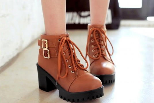 Spirited Style Boots Tan