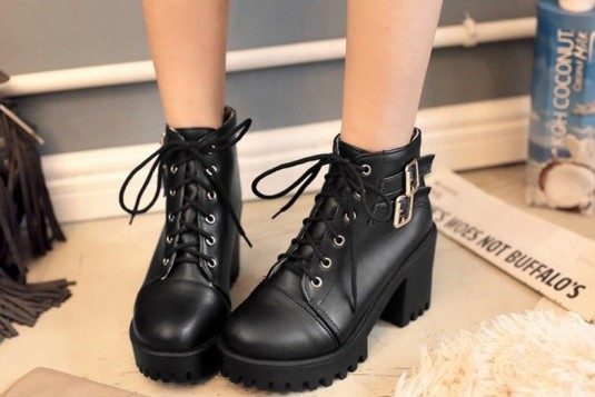 Spirited Style Boots Black