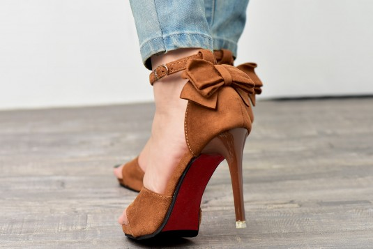 The Critter Brown Heels