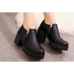Casual Influence Boots Black