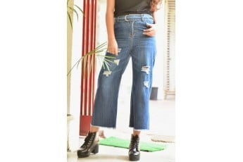 Loose Fit Rugged Jeans