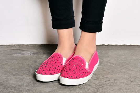 Amplified Acclaim Sneakers Pink