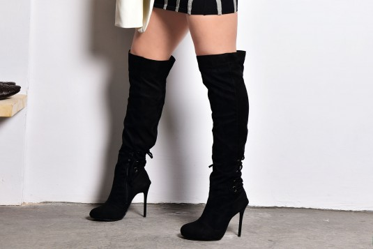 Chic twill Boots