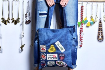 Multi Patches Bag
