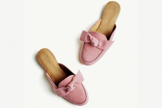 Taking sides flats Pink
