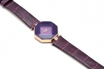 Unique purple watch