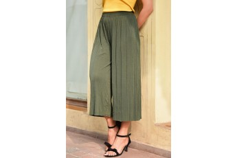 Corduroy trouser Green