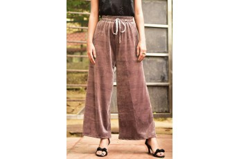 Fused with utility trouser Brown