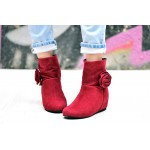 Rose Bow Boots