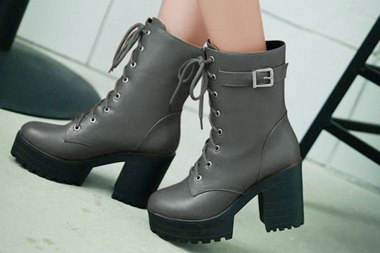 Quirky Delight Heels Boots