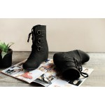 Lost in spot Inner Wedge boots