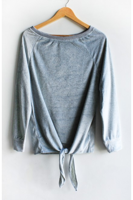 Life of the party Top Grey