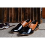 Brown and Black Formal Shoe