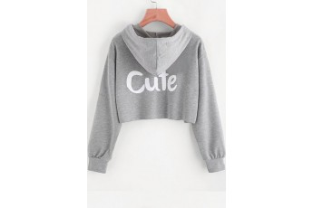 Cute sweatshirt grey
