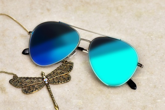 Attending party sunglasses