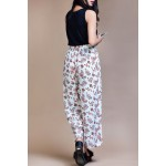 Set- Sleeveless top with floral printed trouser