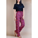 Set- Black top with Crazy trouser