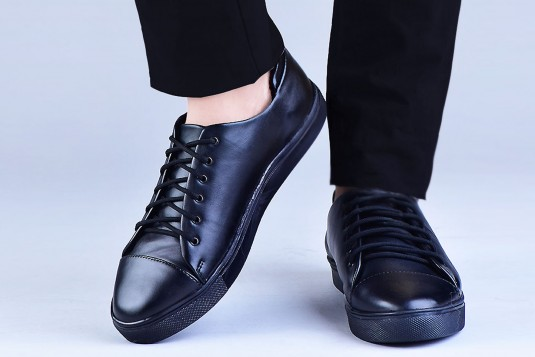 Down shifter sneakers