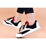 Round town sneakers
