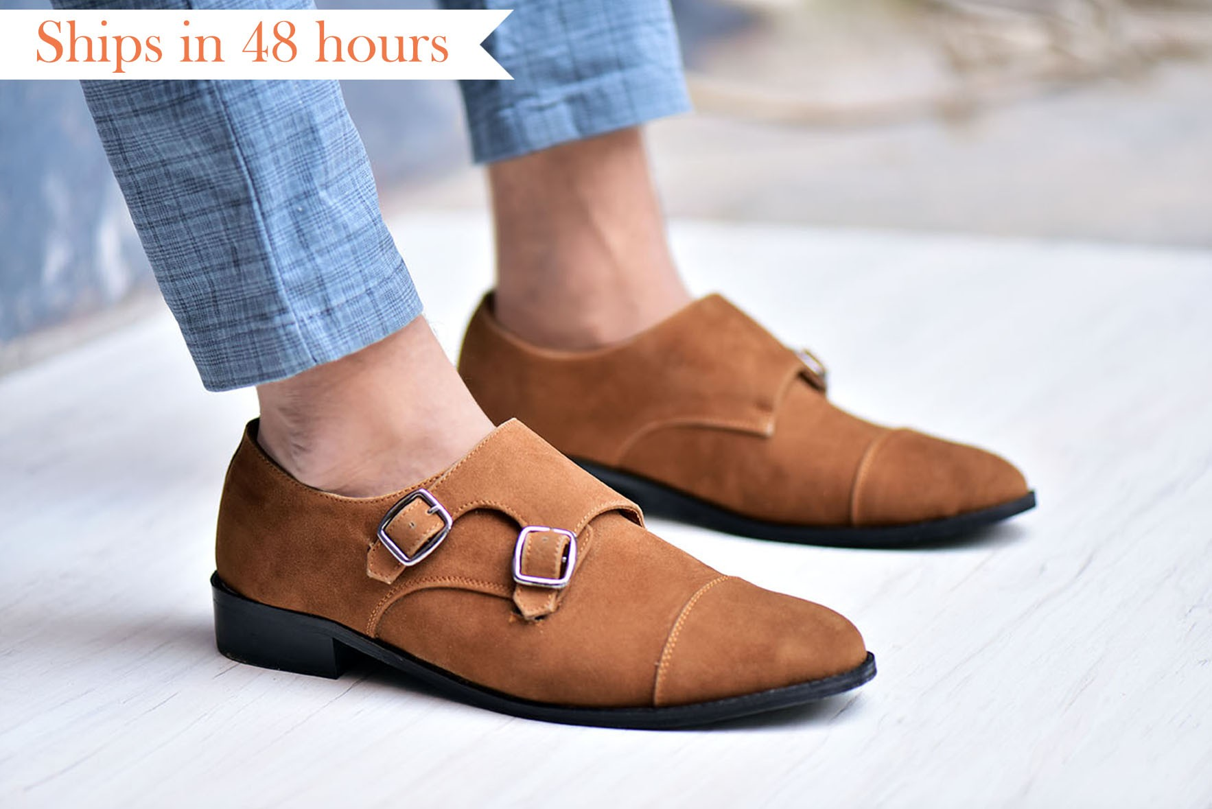 Buckled detailed casual Shoe