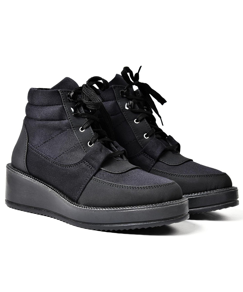 Forget Me Lace-Up Boots