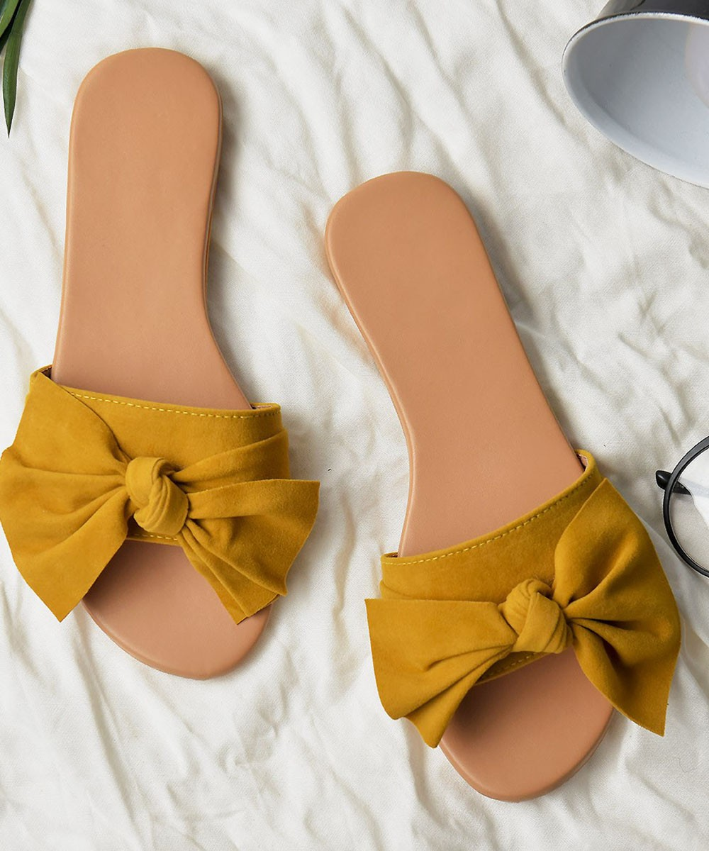 Geek as me flats yellow