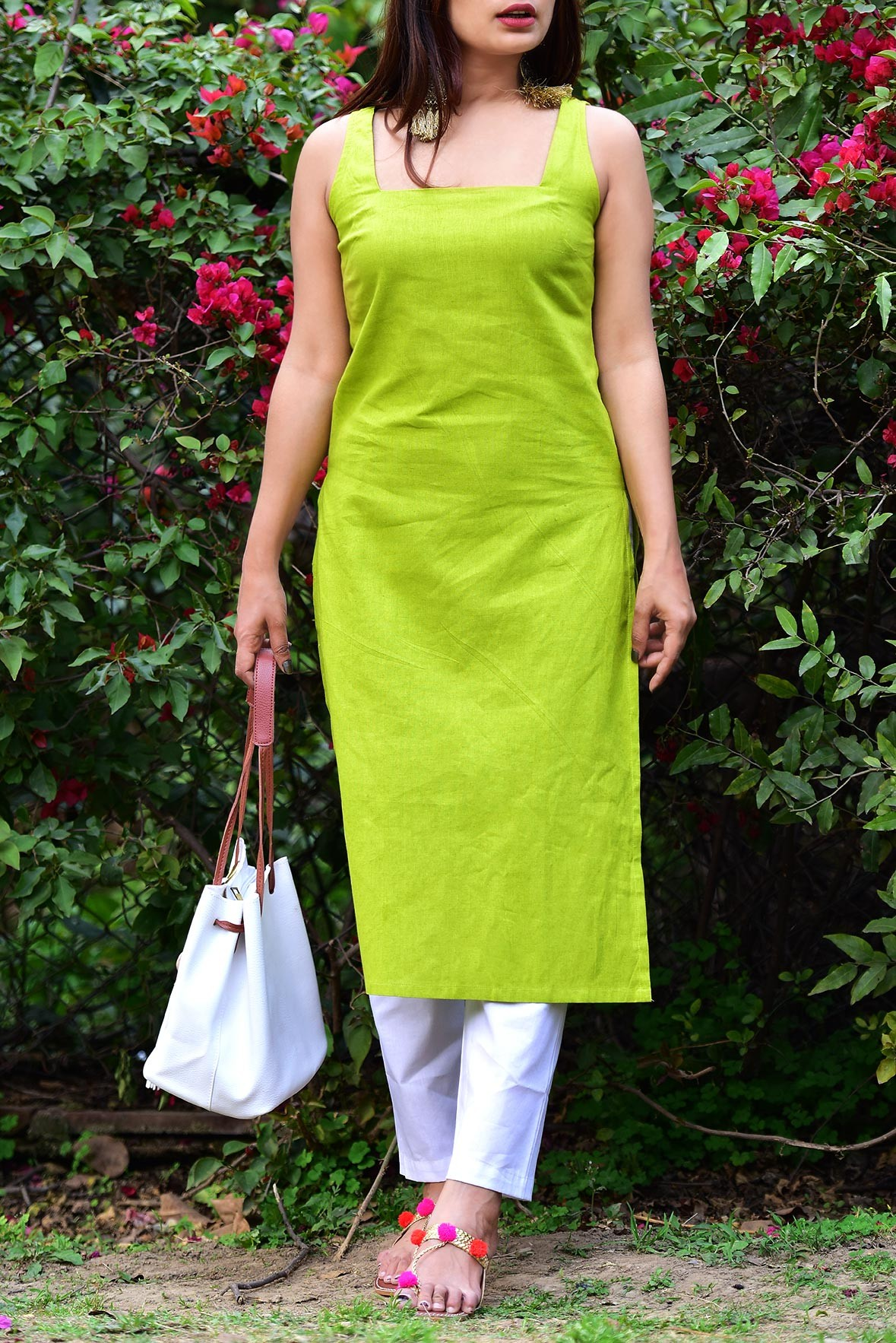 Set - Treat to the eyes kurti with pant