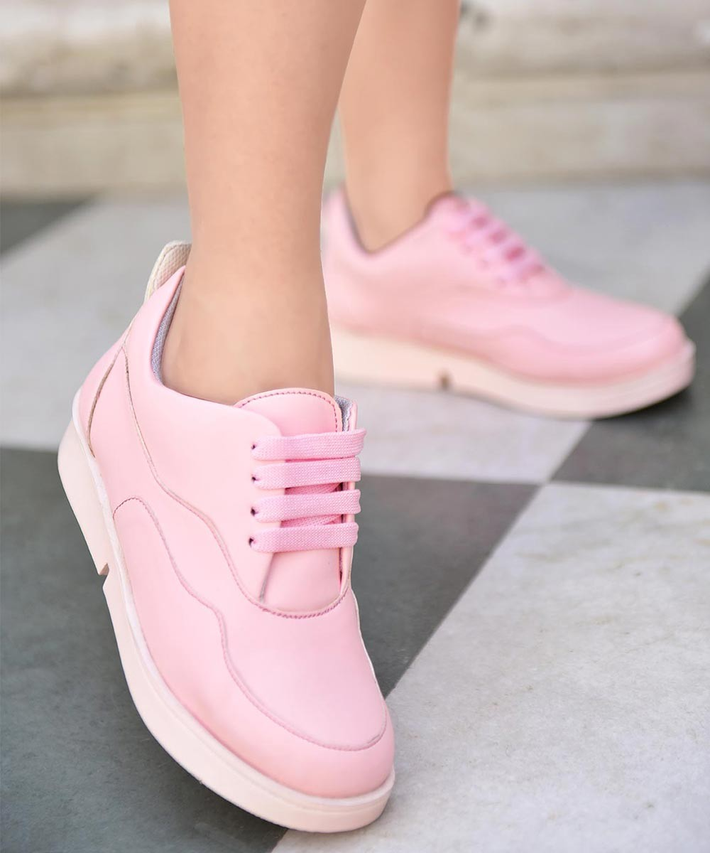 Magic on the way pink sneakers